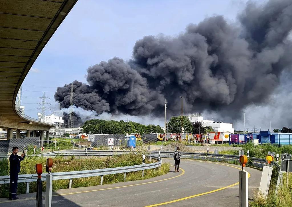 33人伤亡,5人失踪,德国勒沃库森化工园区发生爆炸!